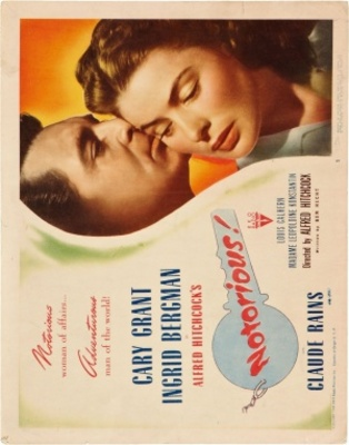 Notorious movie poster (1946) poster MOV_73c6ce36