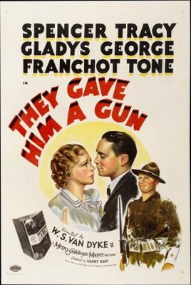 They Gave Him a Gun movie poster (1937) poster MOV_73db82a9