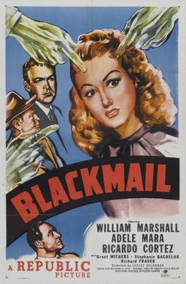 Blackmail movie poster (1947) poster MOV_73f9e2c4