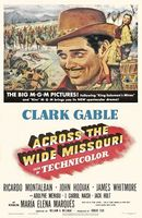 Across the Wide Missouri movie poster (1951) picture MOV_7406bb50