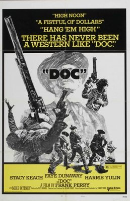 'Doc' movie poster (1971) poster MOV_74168ca5