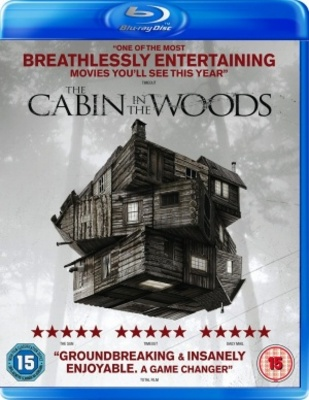 The Cabin in the Woods movie poster (2011) poster MOV_7427bb38