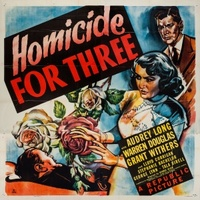 Homicide for Three movie poster (1948) picture MOV_7444213b
