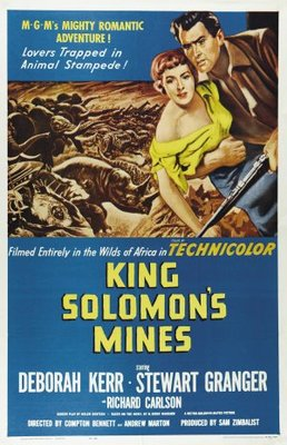 King Solomon's Mines movie poster (1950) poster MOV_7449c670