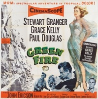 Green Fire movie poster (1954) picture MOV_744a8507