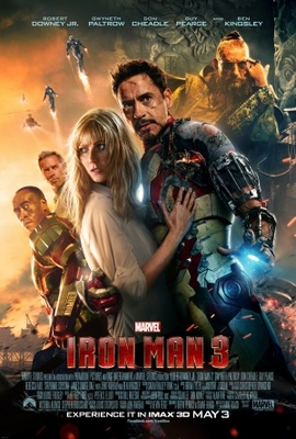 Iron Man 3 movie poster (2013) poster MOV_74b2d345