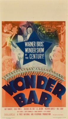 Wonder Bar movie poster (1934) poster MOV_74b6acd7