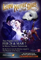 Love Never Dies movie poster (2012) picture MOV_74b75f2e