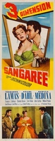 Sangaree movie poster (1953) picture MOV_74cb35fc