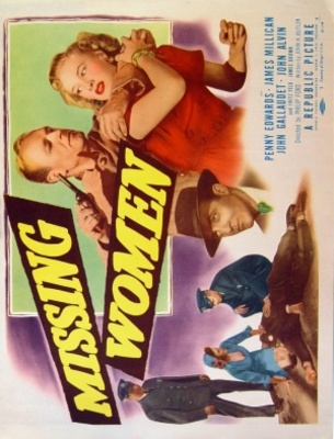 Missing Women movie poster (1951) poster MOV_74cdb65f