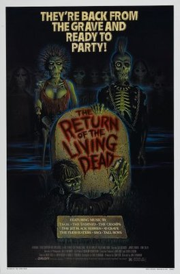 The Return of the Living Dead movie poster (1985) poster MOV_74fae1ee