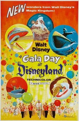 Gala Day at Disneyland movie poster (1960) poster MOV_751b2600