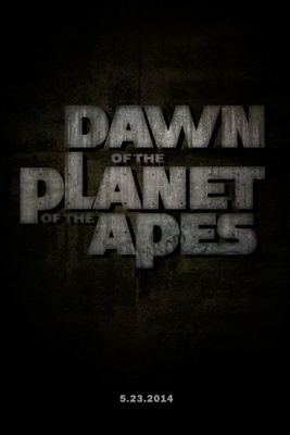 Dawn of the Planet of the Apes movie poster (2014) poster MOV_751e7d60