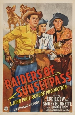 Raiders of Sunset Pass movie poster (1943) poster MOV_7542cac2