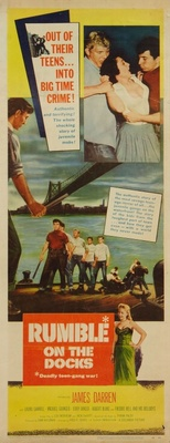 Rumble on the Docks movie poster (1956) poster MOV_754b94e5