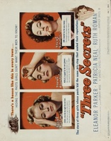 Three Secrets movie poster (1950) picture MOV_756bede0