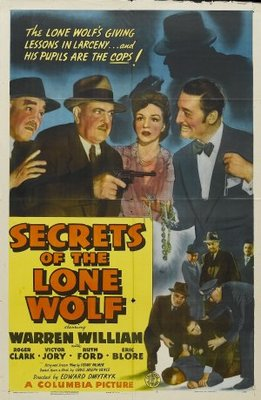 Secrets of the Lone Wolf movie poster (1941) poster MOV_757e2753