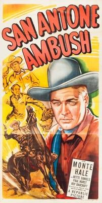 San Antone Ambush movie poster (1949) poster MOV_7593bfe2