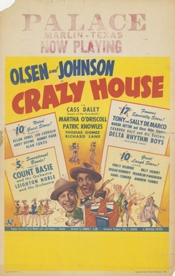 Crazy House movie poster (1943) poster MOV_759d2f9a