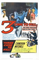 Three Came to Kill movie poster (1960) picture MOV_75a6c1df