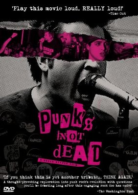 Punk's Not Dead movie poster (2007) poster MOV_75ad653c