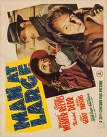 Man at Large movie poster (1941) picture MOV_75c136d4