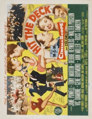 Hit the Deck movie poster (1955) poster MOV_75dd42ea