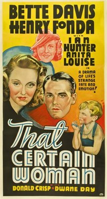 That Certain Woman movie poster (1937) poster MOV_75dea283