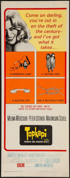 Topkapi movie poster (1964) poster MOV_75iptoiw