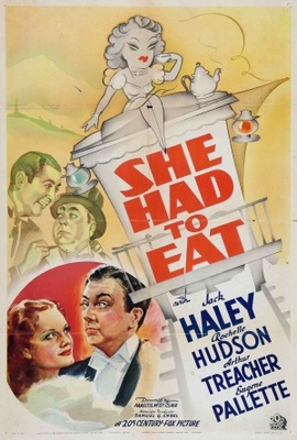 She Had to Eat movie poster (1937) poster MOV_76009863