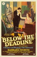 Below the Deadline movie poster (1929) picture MOV_76115112