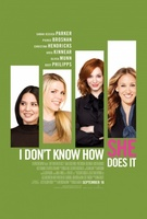 I Don't Know How She Does It movie poster (2011) picture MOV_76197760