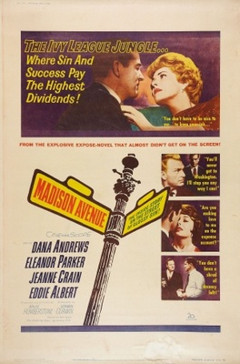 Madison Avenue movie poster (1962) poster MOV_763964ea