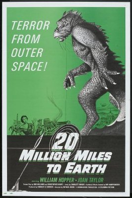 20 Million Miles to Earth movie poster (1957) poster MOV_764bae27