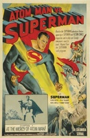Atom Man Vs. Superman movie poster (1950) picture MOV_76546d5b