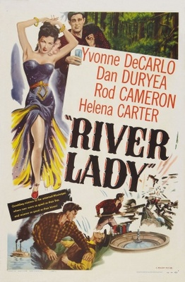 River Lady movie poster (1948) poster MOV_7656a662
