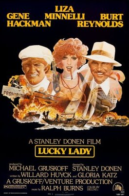 Lucky Lady movie poster (1975) poster MOV_766d1930