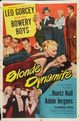Blonde Dynamite movie poster (1950) poster MOV_7677df57