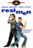 Real Men movie poster (1987) picture MOV_76781ffa
