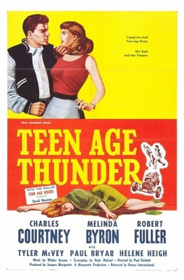 Teenage Thunder movie poster (1957) poster MOV_7678c4e2