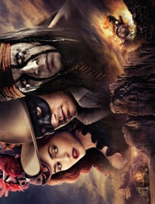 The Lone Ranger movie poster (2013) poster MOV_767ae39b