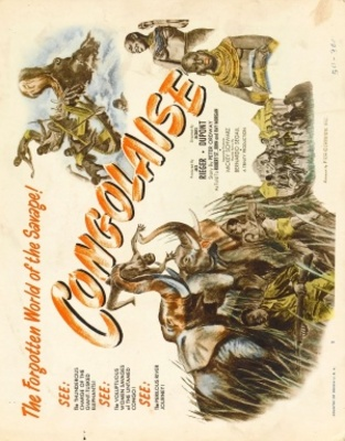 Savage Africa movie poster (1950) poster MOV_76b0b281