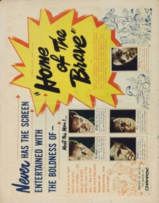 Home of the Brave movie poster (1949) poster MOV_76c5720f
