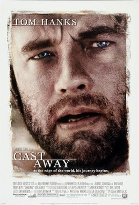 Cast Away movie poster (2000) poster MOV_76cbbd29