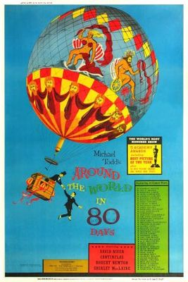 Around the World in Eighty Days movie poster (1956) poster MOV_76ce6482