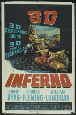 Inferno movie poster (1953) poster MOV_76df1324