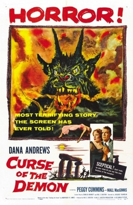 Night of the Demon movie poster (1957) poster MOV_76e579a6