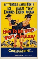 How to Be Very, Very Popular movie poster (1955) picture MOV_770b030c