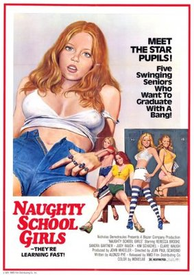 Naughty Schoolgirls movie poster (1976) poster MOV_773cd119