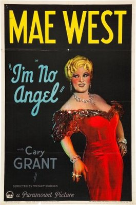 I'm No Angel movie poster (1933) poster MOV_7746a1bc